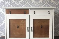'60 cabinet white background
