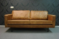 Leather Couch Front