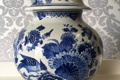 Vase Delftsblauw China Imitation