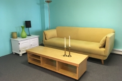 Large Yellow Sofa Set