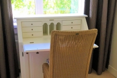 Study-room and office with great '50 secretaire and
